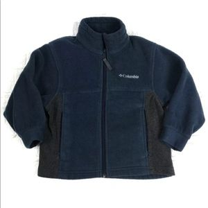 Columbia Zip Front Fleece Jacket